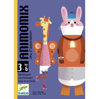 Djeco Djeco - Matching Game Animomix