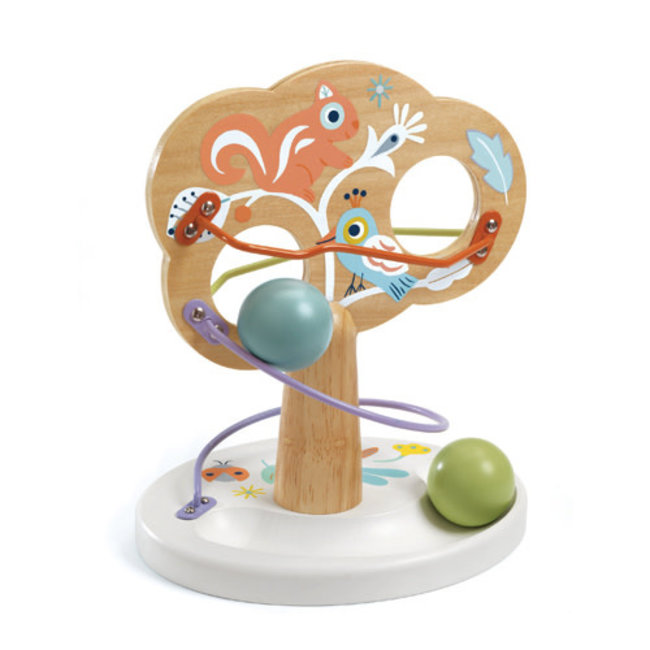 Djeco Djeco - Wooden Activity Toy Babytree
