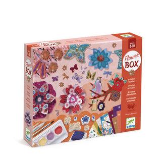 Djeco Djeco - Multi-activity box, Flower Garden