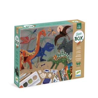 Djeco Djeco - Multi-activity box, Dinosaurs World