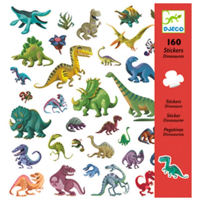 Djeco Djeco - Autocollants, Dinosaures
