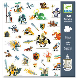 Djeco Djeco - Stickers, Knights