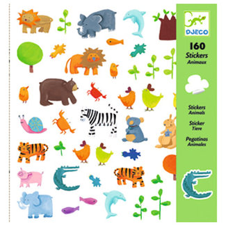 Djeco Djeco - Stickers, Animals