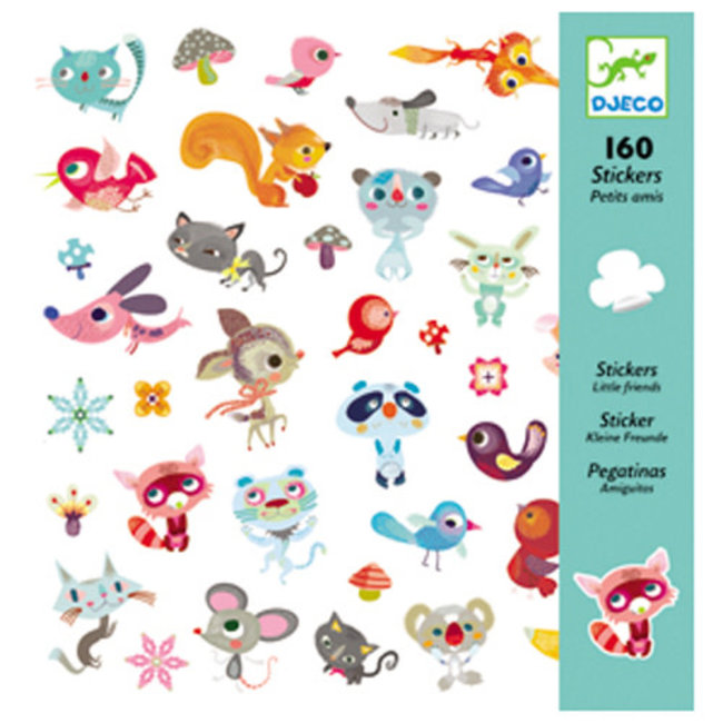 Djeco Djeco - Stickers, Little Friends