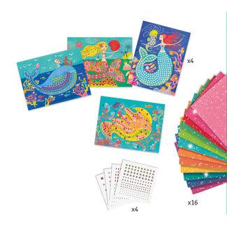 Djeco Djeco - Mosaic Creative Set, Mermaid's Song
