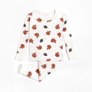 Petit Lem Petit Lem - 2 Pieces Pyjama, Fall Leaves
