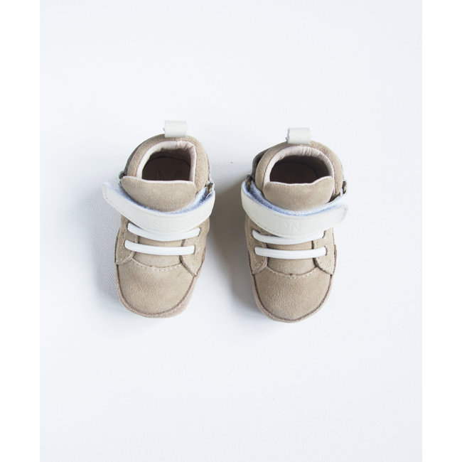 Aston baby Aston Baby - Lonsdale Soft Soles Shoes, Sand