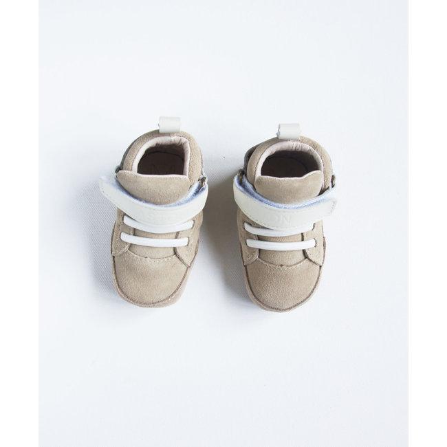 Aston baby Aston Baby - Souliers Semelles Souples Lonsdale, Sable