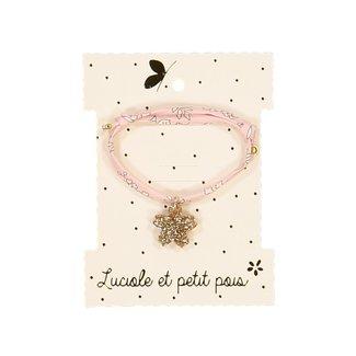 Luciole et petit pois Luciole et Petit Pois - Liberty Bracelet, Pink Capel
