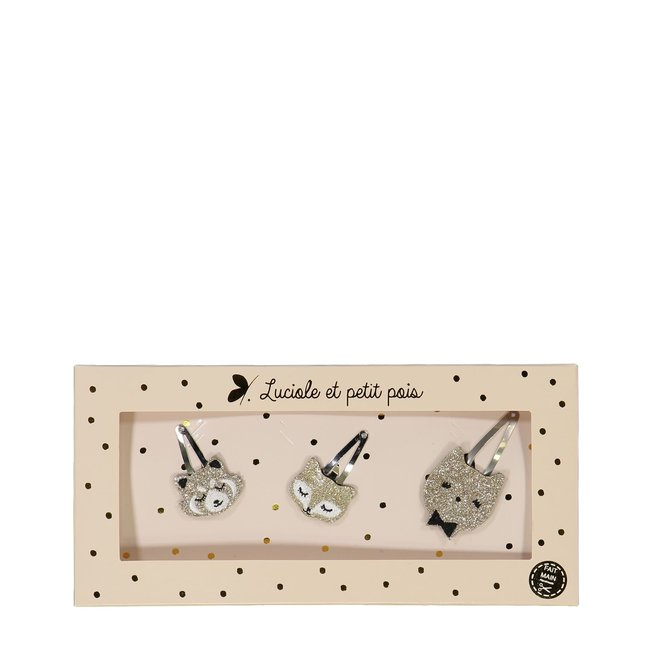 Luciole et petit pois Luciole et Petit Pois - Gift Box, The Trios, Gold