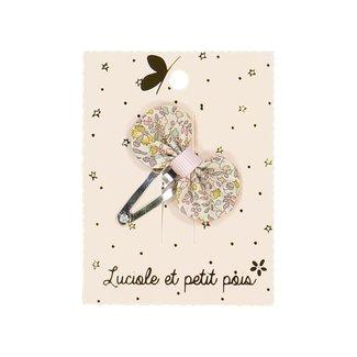 Luciole et petit pois Luciole et Petit Pois - Mini Petal Hair Clip, Liberty Katie and Millie