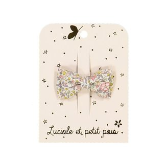 Luciole et petit pois Luciole et Petit Pois - Small Double Bow Hair Clip, Liberty Katie and Millie