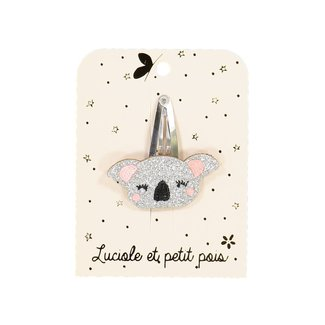 Luciole et petit pois Luciole et Petit Pois - Hair Clip, Silver Koala