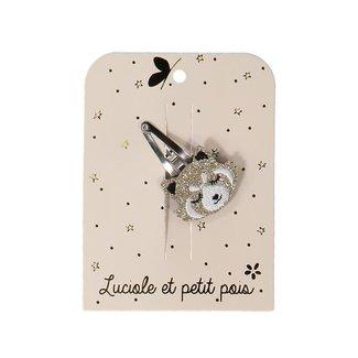 Luciole et petit pois Luciole et Petit Pois - Hair Clip, Gold Red Panda
