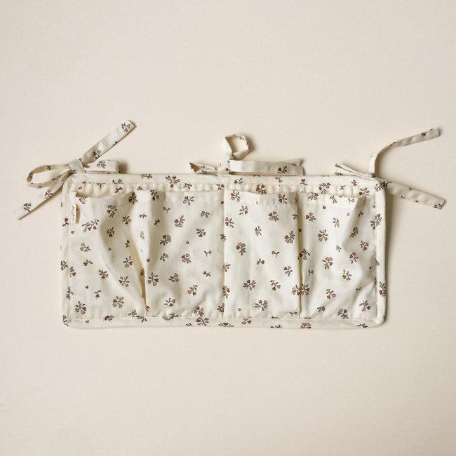 Konges Sløjd Konges Sløjd - Quilted Bed Pockets, Petit Amour Rose
