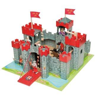 Le Toy Van Le Toy Van - Lionheart Wooden Castle