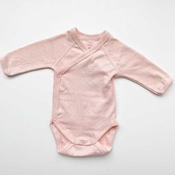 Petit Bateau Petit Bateau - Long Sleeves Romper, Pink