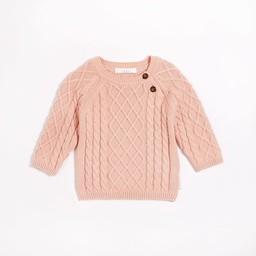 Petit Lem Petit Lem - Knit Sweater, Pink