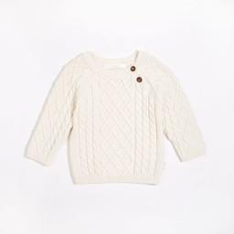 Petit Lem Petit Lem - Knit Sweater, Cream
