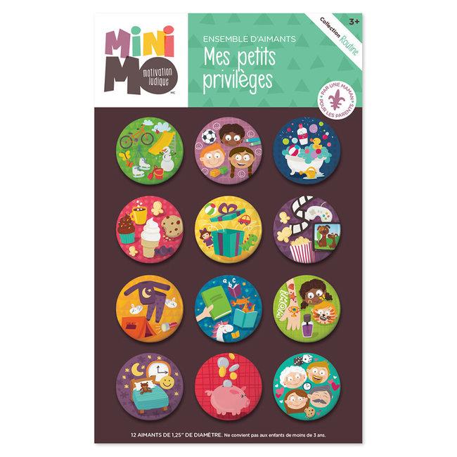 Minimo Minimo - Motivation Magnets Set, My Little Privileges