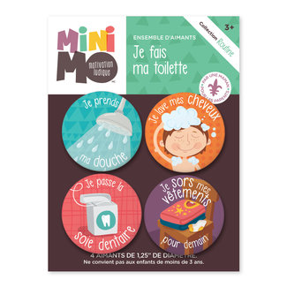 Minimo Minimo - Motivation Magnets Set, Evening Routine