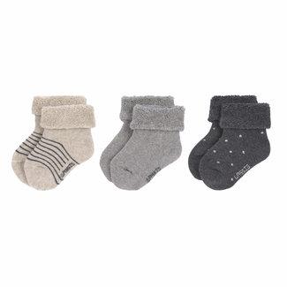 Lässig Lässig - 3 Pairs of Socks, Grey