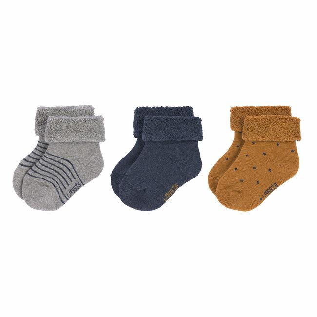 Lässig Lässig - 3 Pairs of Socks, Blue