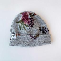ED Design ED Design - Junior Autumn Heather Hat, Gray Floral