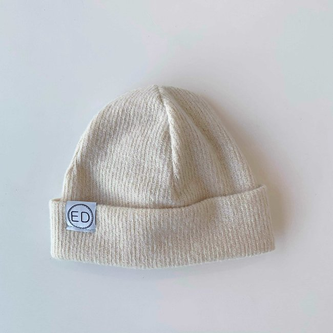 ED Design ED Design - Junior Heather Hat, Cream