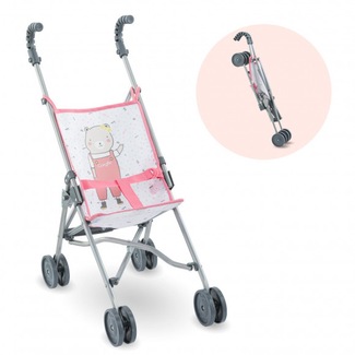 Corolle Corolle - Umbrella Stroller for Doll, Pink