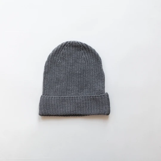 Kindly the label Kindly the Label - Chunky Knit Beanie, Grey