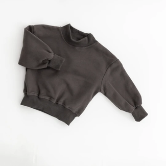 Kindly the label Kindly the Label - Only Good Days Sweater, Washed Black