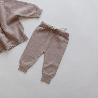 Kindly the label Kindly the Label - Knit Pants, Hazelnut