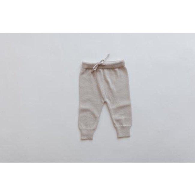 Kindly the label Kindly the Label - Knit Pants, Light Beige