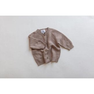 Kindly the label Kindly the Label - Knit Cardigan, Hazelnut