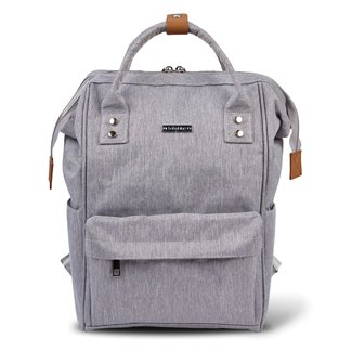 Bababing Bababing - Diaper Backpack, Grey
