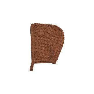 Fixoni Fixoni - Knit Helmet, Lion, 0-1 month