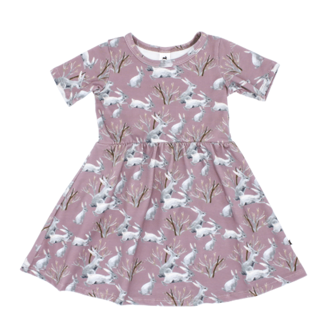 Little & Lively Little & Lively - Daphne Dress, Cottontail