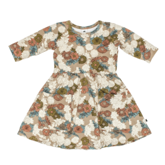 Little & Lively Little & Lively - Clementine Dress, Wildflower