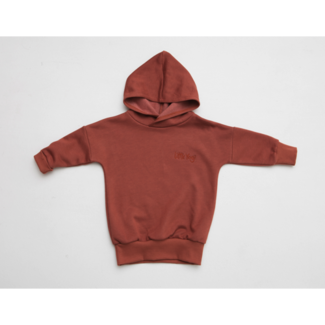 Little Yogi Little Yogi - Hoodie, Dark Peach