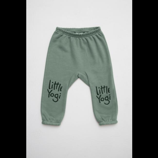 Little Yogi Little Yogi - Sweat Pants, Sage