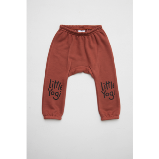 Little Yogi Little Yogi - Sweat Pants, Dark Peach
