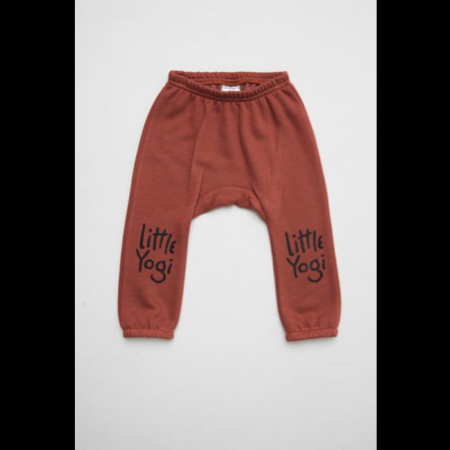 Little Yogi Little Yogi - Sweat Pants, Dark Peach