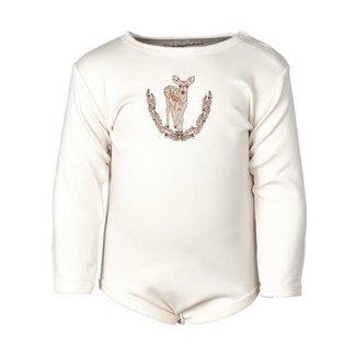 Fixoni Fixoni - Long Sleeves Bodysuit, Pink Deer