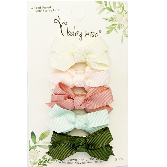 Baby Wisp Baby Wisp - 5 Pack Chelsea Boutique Bow, Bouquet