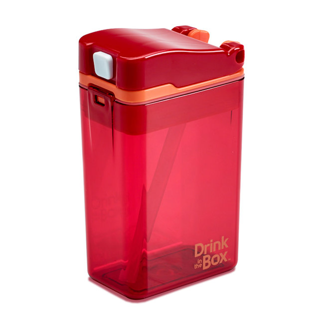 Juice in the Box Drink in the Box - Reusable Juice Box, Red