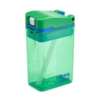 Juice in the Box Drink in the Box - Boîte de Jus Réutilisable, Vert