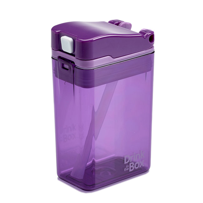 Juice in the Box Drink in the Box - Reusable Juice Box, Purple