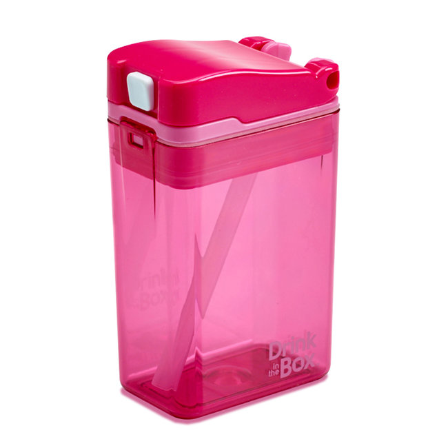 Juice in the Box Drink in the Box - Reusable Juice Box, Pink