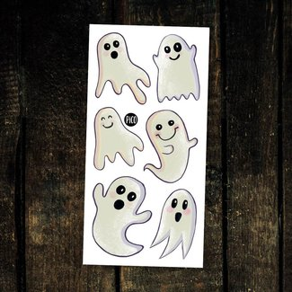 Pico Tatouages Temporaires Pico Tatoo - Temporary Tattoos, The Surprising Ghosts
